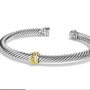 David Yurman Cable classics one station Bracelet